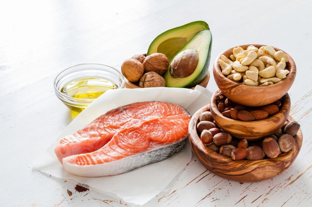 Gesunde Öle und Fett einer vollwertigen Ernährung
